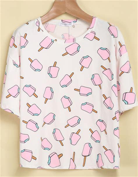 tumblr t shirt pattern popsicle tee on storenvy