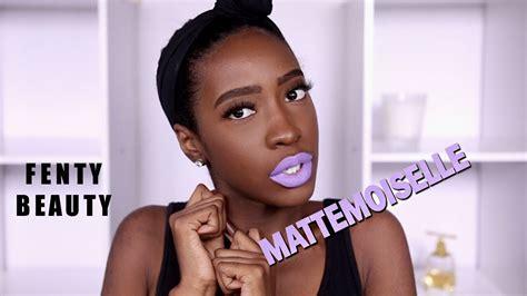 Lipstik Fenty fenty mattemoiselle plush matte lipstick swatches