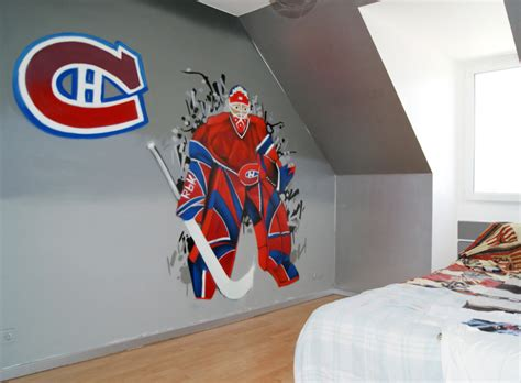 chambre canadien deco chambre garcon hockey visuel 4