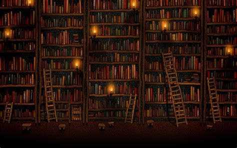 Wallpaper Bookshelves Bookshelves Wallpaper 120261