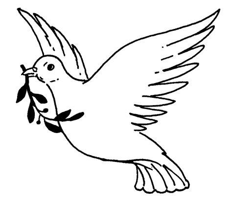 dibujos para colorear de la paloma del espiritu santo dibujos de palomas de la paz para imprimir imagui