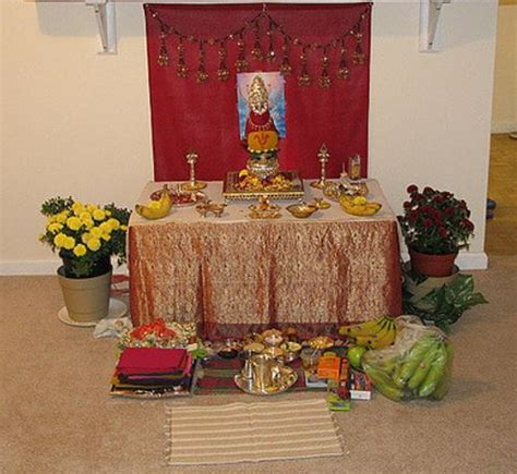 decoration of pooja room at home pooja room decoration ideas for varalakshmi pooja room