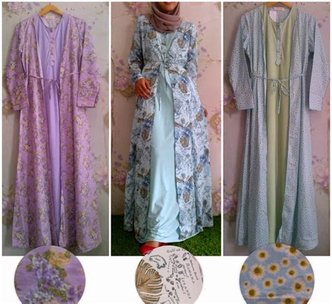 Gamis Tanah Abang Tren Mode New Style For 2016 2017