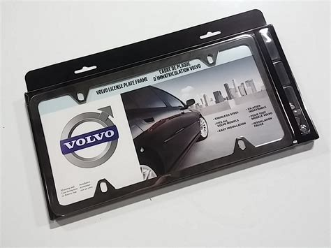 volvo license plate frame volvo xc60 license plate frames four stainless steel