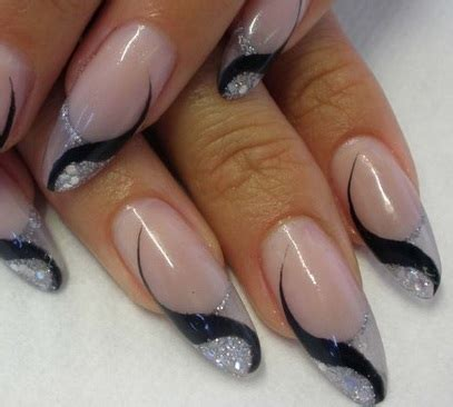 tutorial nail art gel sfumato nail art sfumato con glitter nail art ideas