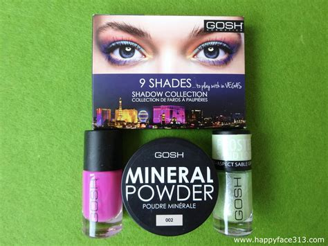 Cosmetic Giveaways - remember to join my gosh cosmetics giveaway happyface313