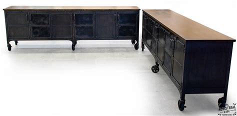 metal media storage cabinet custom industrial 9 foot rolling media cabinet wood