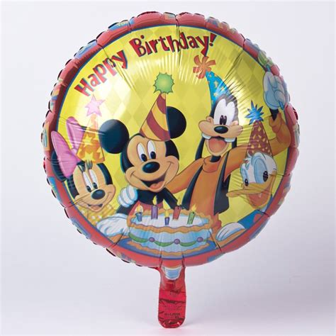 Balon Mickey Mouse Bulat Balon Foil Mickey Mouse Balon Mickey disney foil helium balloon mickey mouse clubhouse