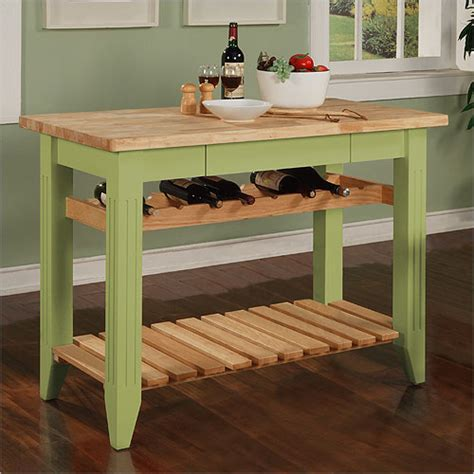 Butcher Tables Kitchen A Butcher Block Table Top Is For Your Kitchen