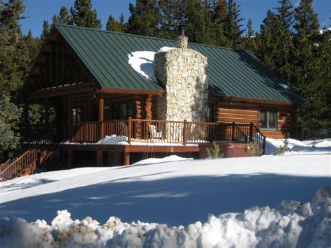 breckenridge log cabin minutes to homeaway