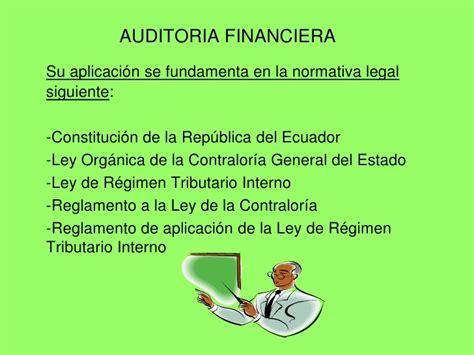 ley organica de regimen tributario interno de ecuador 2015 curso de auditoria financiera 1