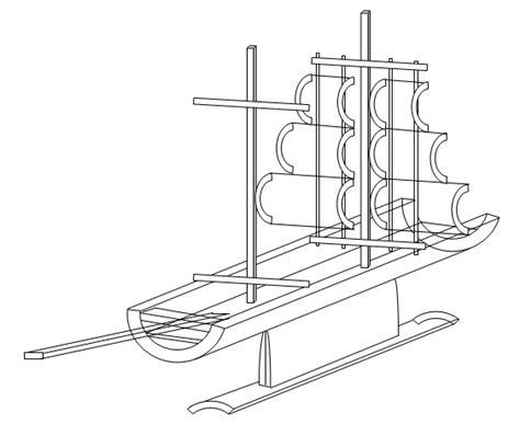 membuat jemuran handuk dari bambu pengin ikhlas cara membuat kerajinan perahu dari bambu