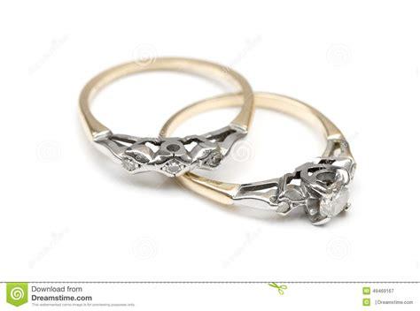 Wedding Background Set by Wedding And Engagement Rings Stock Photo Image 49469167