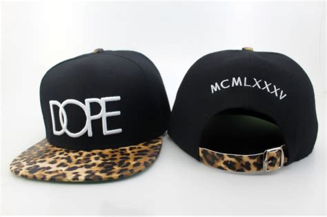 dope leopard snapback caps dropshipping snap back hats wholesale snapbacks in baseball caps from