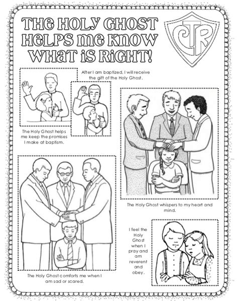 Free Coloring Pages Of Lds Holy Ghost Holy Ghost Coloring Page