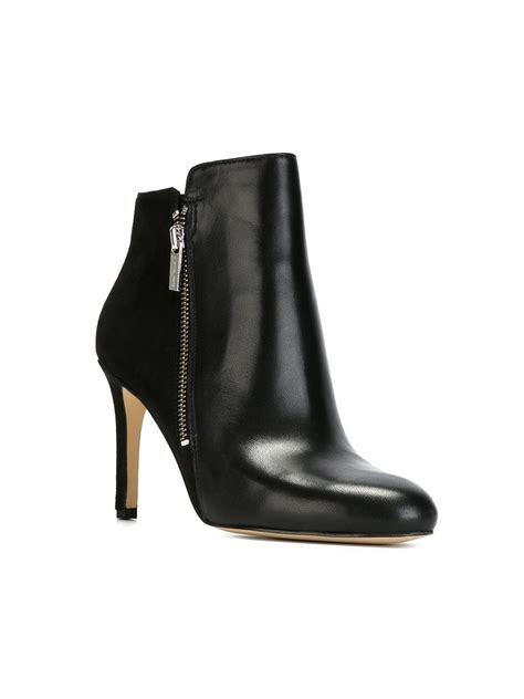 michael michael kors stiletto ankle boots in black lyst