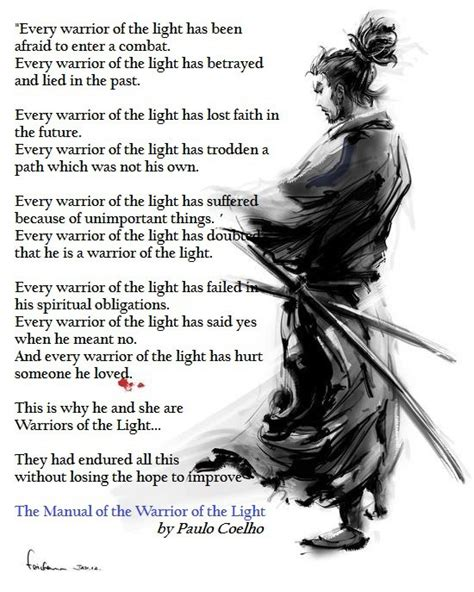The Manual Of The Warrior Of Light Paulo Coelho