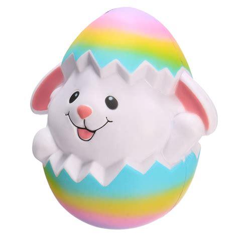Soft And Slowrise Squishy Jumbo Connie squishyshop rabbit breaking egg jumbo squishy 18cm soft rising collection gift decor