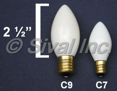 c7 c9 christmas light bulbs
