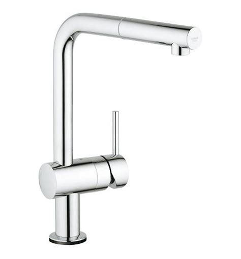Grohe Kitchen Sink Grohe Minta Touch Electronic Single Lever Kitchen Sink Mixer Tap Chrome