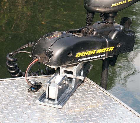 bow steering boat mk 01 trolling motor mount electric wireless steering