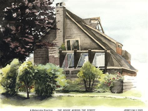 the house across the street the house across the street by jerrycai on deviantart