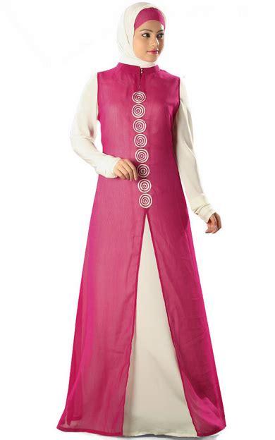 Narita Dress Baju Dress Muslimah 1 31 koleksi baju muslim modern bentuk dress untuk wanita