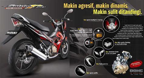 Alarm Motor Buat Satria Fu modifikasi satria fu kenapa selalu pasang velg teromol jari jari dan ban kecil thai look