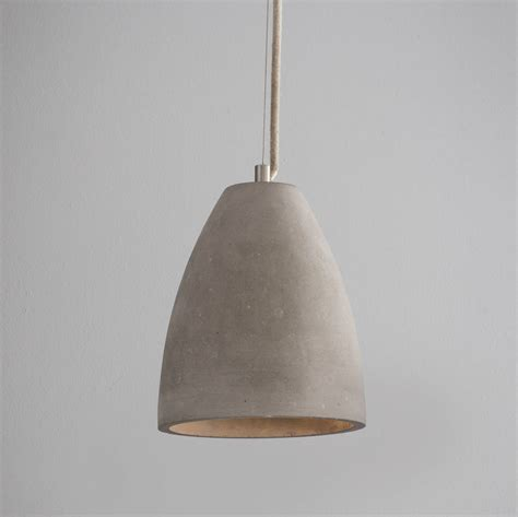 Concrete Pendant Light Dome Concrete Pendant Light By Idyll Home