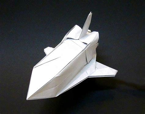 Origami Spaceships - space shuttle origami flickr photo