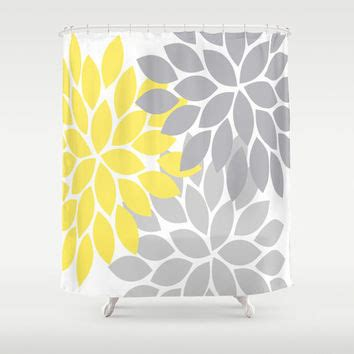 gray yellow shower curtain best gray and yellow shower curtain products on wanelo