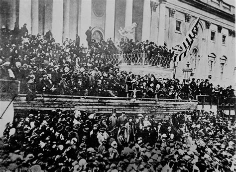 lincoln inaugural address 1865 lincoln s second inaugural address finer words were