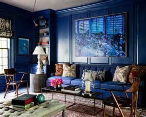 Jonathan Adler Sofa by Lisa Mende Design Best Navy Blue Paint Colors 8 Of My Favs