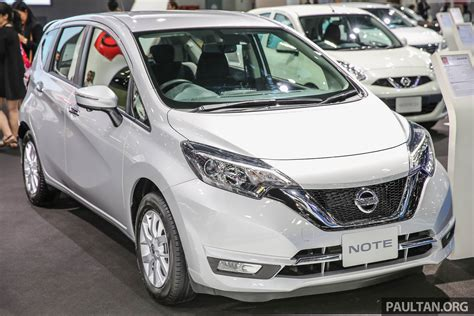 nissan note 2017 bangkok 2017 nissan note thailand s latest eco car