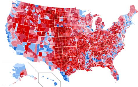 us voting map file united states presidential election results by county
