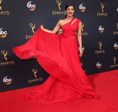 priyanka chopra at the emmy priyanka chopra always makes an impact parineeti chopra