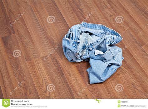 crumpled on floor stock photo image 48531261