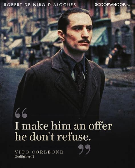 robert de niro quotes robert de niro quotes from the godfather