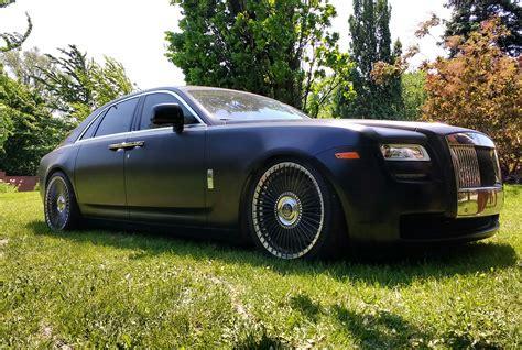 matte rolls royce wraith matte black rolls royce wraith at canadian grand prix oc
