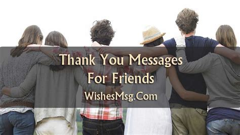 Thank You Messages For Friends   Sweet Notes & Quotes
