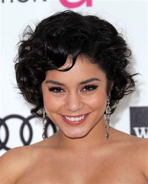 cute hairstyles short curly hair vanessa hudgens cute short curly hairstyles popular haircuts