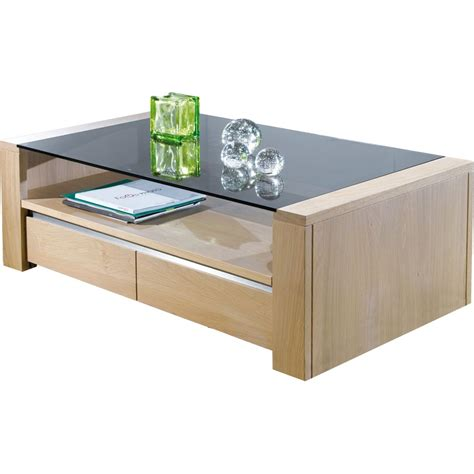 plateau verre table basse plateau verre meuble de salon style contemporain