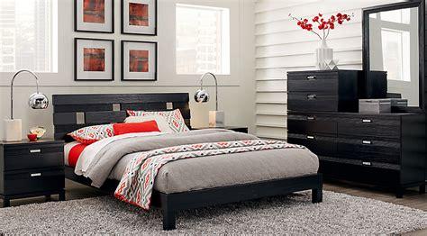 gardenia black  pc queen platform bedroom queen bedroom sets colors