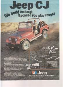 1978 jeep cj truck magazine advertisement