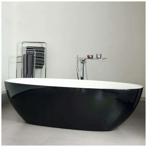 freistehende badewanne schwarz albert barcelona badewanne freistehend schwarz klavierlack bar n bk no megabad