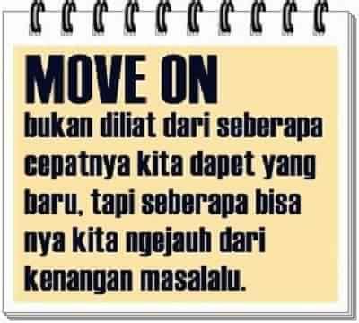 Kaos Susah Moveon Kata Kata kumpulan gambar kata kata move on lucu bijak terbaru