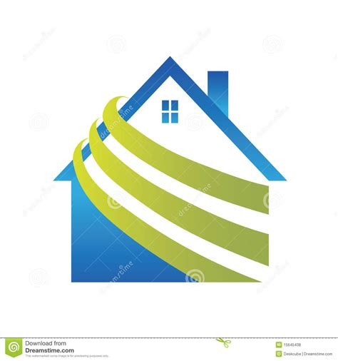 House Plans Free Download Logo House Royalty Free Stock Photos Image 15645438