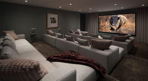 ideas  theater room sofas