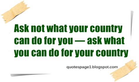 What Can You Do With A Md Mba Without Residency by Quotes Page Ask Not What Your Country Can Do For You