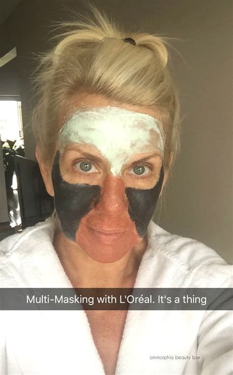 Masker Loreal l or 233 al clay masks an event at the top of